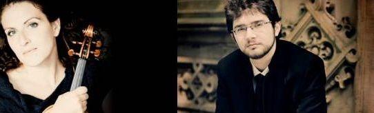 הפסנתרן רומן רבינוביץ' והכנרת ליזה פרשטמן