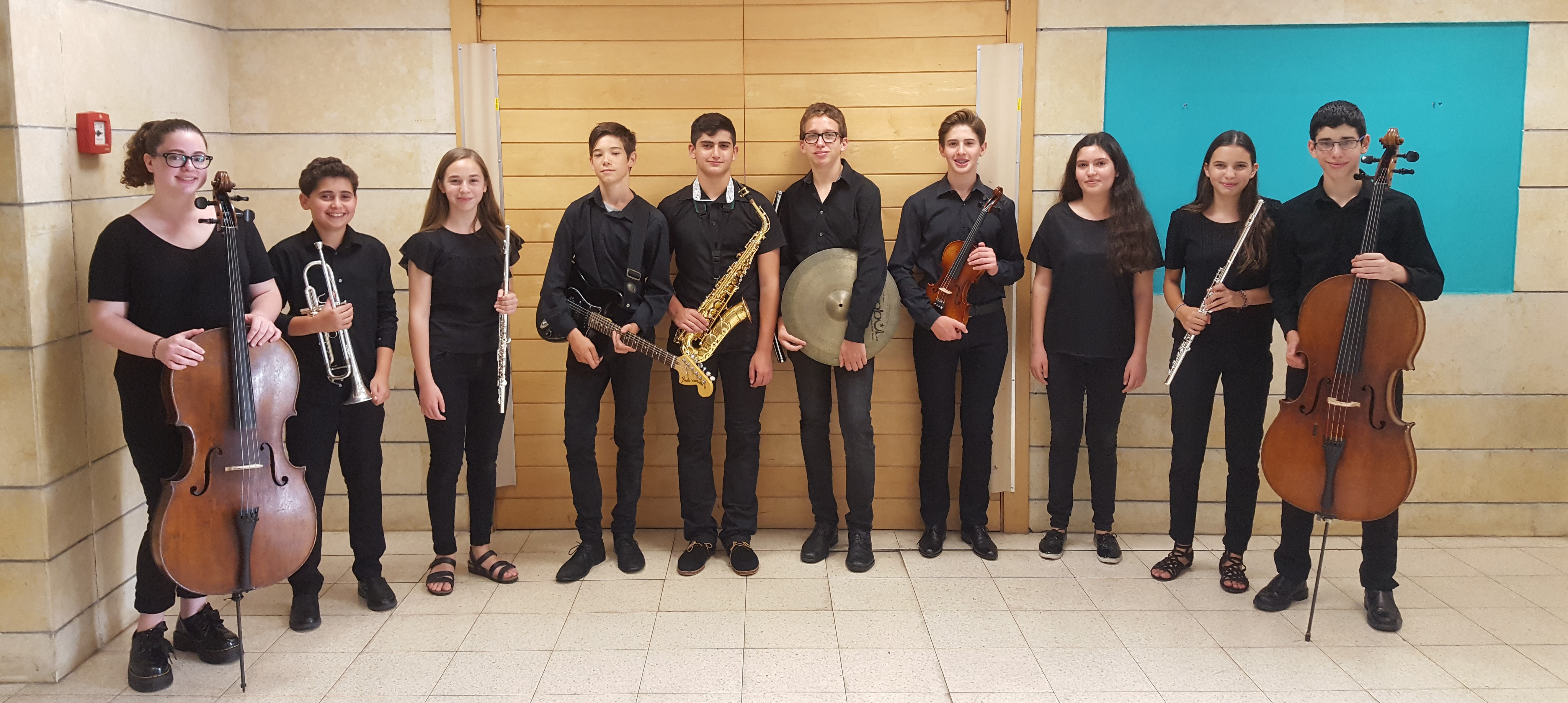 The representative ensemble of the music department – Tel-Aviv school of art